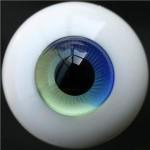 [10mm/ 12mm/ 14mm/ 16mm/ 18mm/ 20mm] Глаза синие спираль