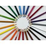 Набор из 24 акварельных карандашей