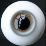 [10mm/ 12mm/ 14mm/ 16mm/ 18mm/ 20mm] Глаза белые с рисунком