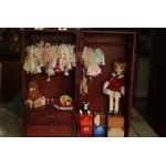 [Для BJD 1/3 / 1/4] Шкаф-ящик для хранения одежды