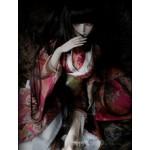 [Для BJD 1/3] Кимоно красно-розовое