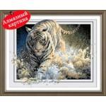 [Алмазная вышивка] Тигр