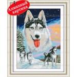 [Алмазная вышивка] Волки 3