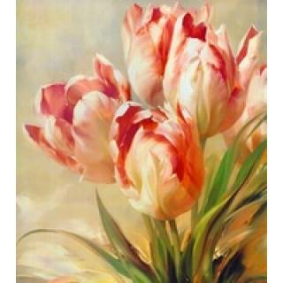 [Алмазная вышивка] Тюльпаны