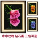[Алмазная вышивка] Розы цвет на выбор