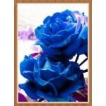 [Алмазная вышивка] Синие розы