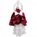 [Для BJD 1/3 / 1/4 / 70 см] Платье в викторианском стиле