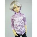 [Для BJD 1/3 / 1/4/ 70 см ] Рубашка бледно-розовая