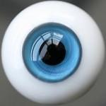 [10mm/ 12mm/ 14mm/ 16mm/ 18mm/ 20mm] Глаза стеклянные голубые 4