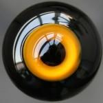 [10mm/ 12mm/ 14mm/ 16mm/ 18mm/ 20mm] Глаза стеклянные черно-рыжие